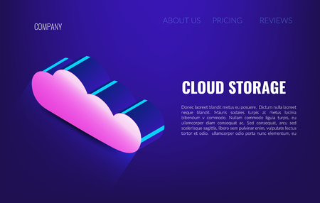Cloud storage. Cloud Hosting Network