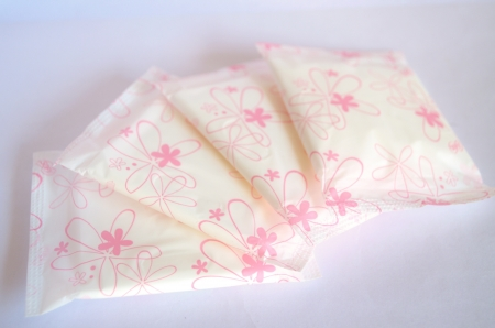 pms: Sanitary pads