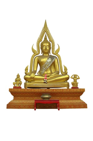 Buddha Image Wat Phar Singh photo