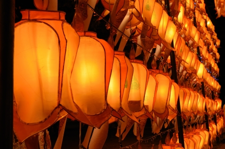 Thai Lanna lanterns