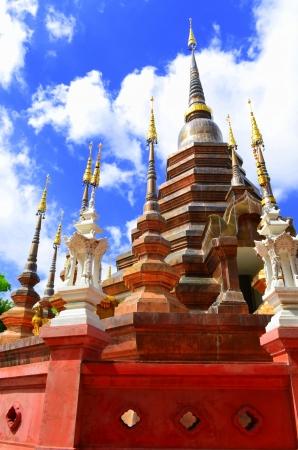 Wat Phan Tao,Temple Thailand photo