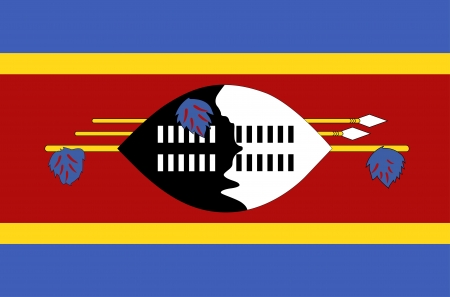 Flag of Swaziland Vector