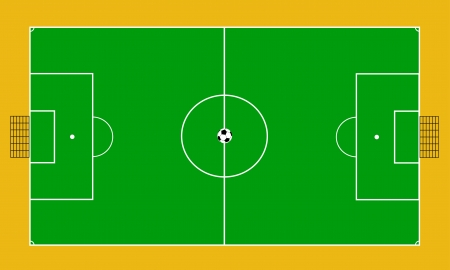 football court Vector