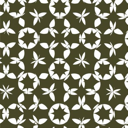 Abstracte zwarte achtergrond, bloem vector achtergrond