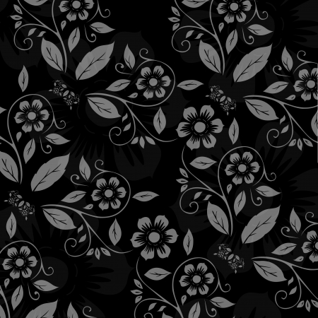 Seamless flower pattern Stock Vector - 22664094