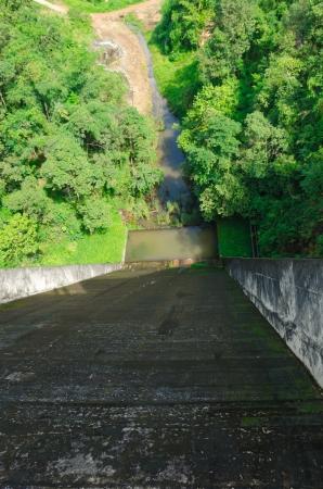 High angle photo of barrage photo