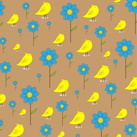 seamless pattern background: Cute Vektor Hintergrund Illustration