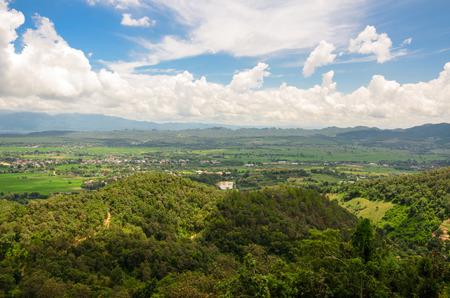 nature view in Chiang Rai,Thailand photo