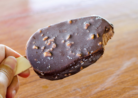 chocolate popsicle covered photo