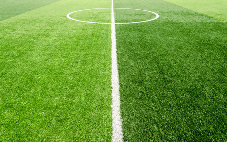soccer field, artificial green grass