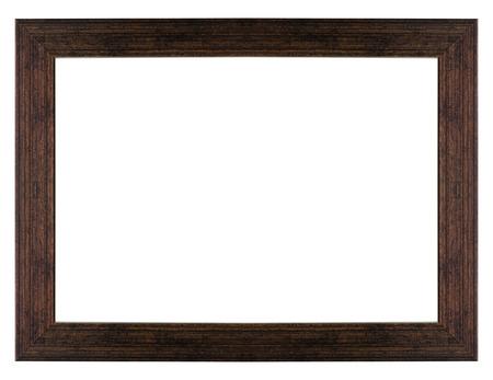 geïsoleerd houten fotolijstje
