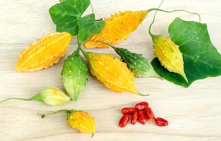 l agriculture: Momordica charantia