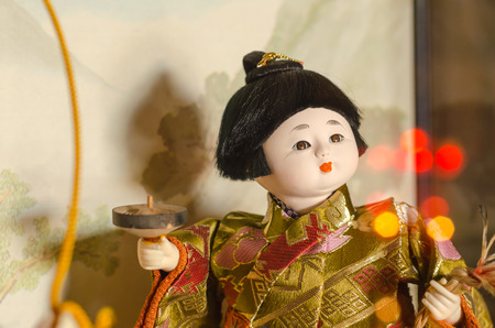 silently: Japanese Doll,Hakata ningyoo