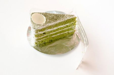 layer cake: Green tea layer cake