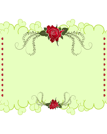 background designs: rose card designs vector on white background
