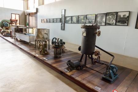 adulyadej: CHIANG MAI,THAILAND-JUNE 26,2016:The Royal project Doi Kham of the King of Thailand Bhumibol Adulyadej in the museum Chiang Mai,Thailand