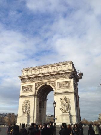 triomphe: Arc de Triomphe Paris