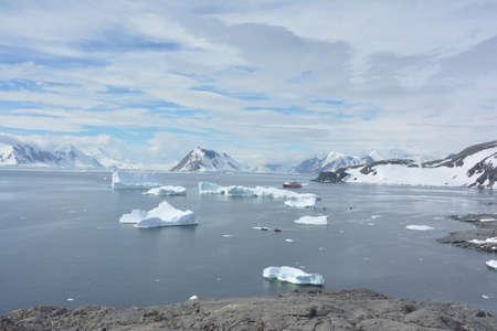 Antarctica, December 2019 스톡 콘텐츠