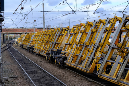 Heavy duty railway engineering machinerey heads south