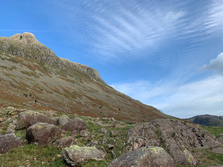 Cloud formations above Great Langdale