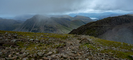 A view from Scafell Pike