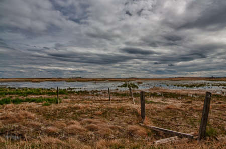 Prairie Wetlands Stock Photo