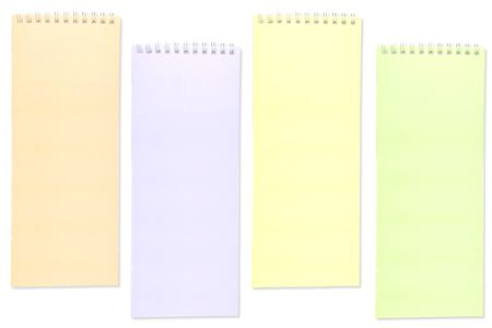 Notebook 4 color Stock Photo - 8116601