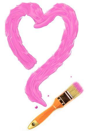Love painting Stock Photo - 8116604