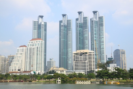 Group of building in the Bangkok city. Stock Photo - 10868494