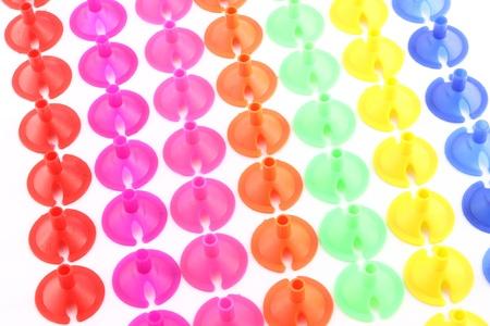Plastic stopper for binding balloon bubble. Stock Photo - 11373729