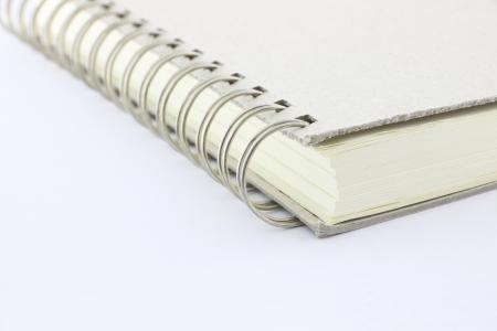 Corner von Ringbuch-Notebook