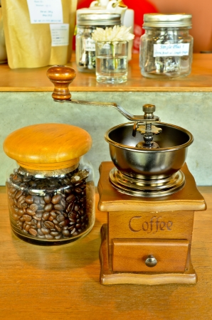 Old coffee grinder Stock Photo - 17845323