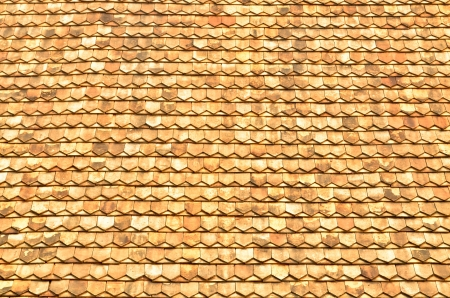 texture of the thai temple roof Stock Photo