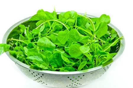 Healthy Eating  Spinach Stock Photo