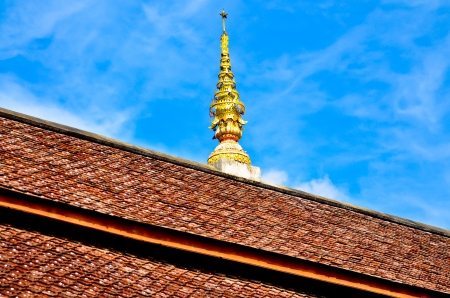 temple roof ,Chiang mai THAILAND