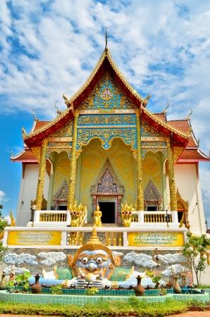 Wat Phra Sing, Chiang Mai, Thailand photo