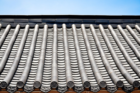 chiness roof Stock Photo