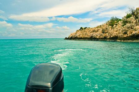 speedboat: Sea Speedboat Stock Photo