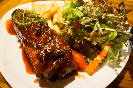 t bone: T Bone Steak - Stock Image