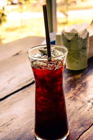 icecube: Ice americano drink