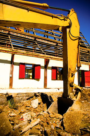 Destroying reinforced concrete structures