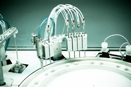 centrifuge. advanced laboratory equipment. photo.