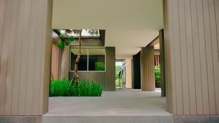 Modern building gate