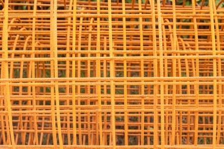 joist: Steel rod for construction job