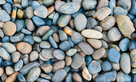 the river: river rocks background
