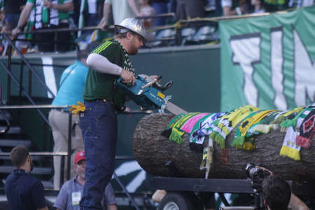 lack: Portland Timbers lumber lack Editorial