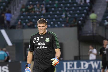 Jake Gleeson Portland Timbers goalkeeper ,Jeld-Wen field Editorial