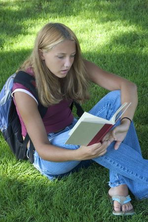 Student Reading photo