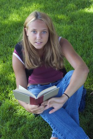 student reading: Student Reading