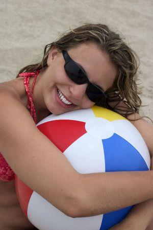 Beach Woman photo
